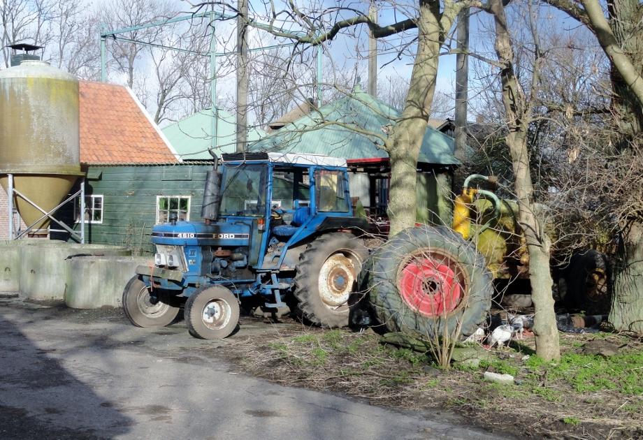 Leiden, boerderij aan de Zijl